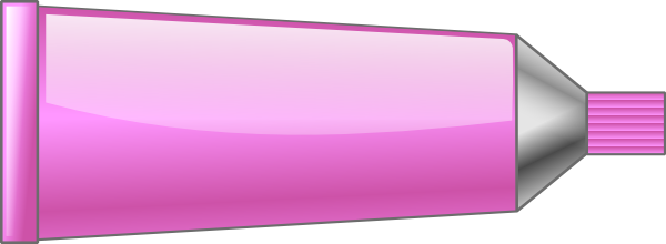 toothpaste clipart pink