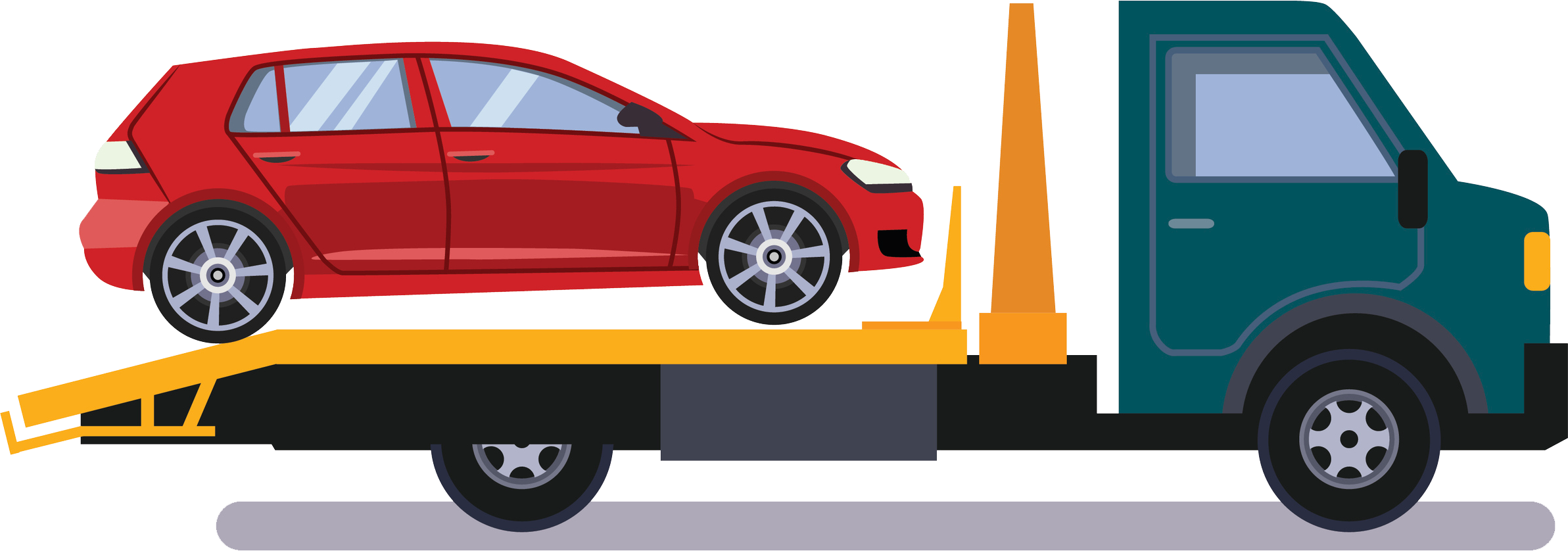 tow truck clipart towing