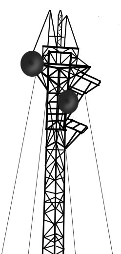 Tower clipart cell phone.