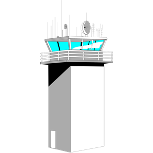 Tower clipart control.