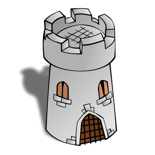 Tower clipart cute.