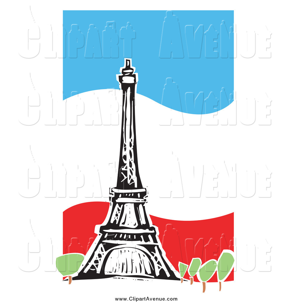 Tower clipart french.