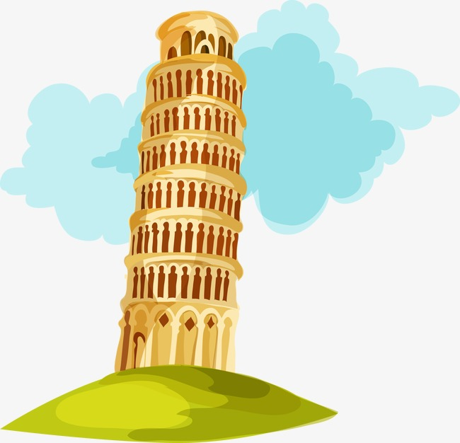 Tower clipart pisa clipart.