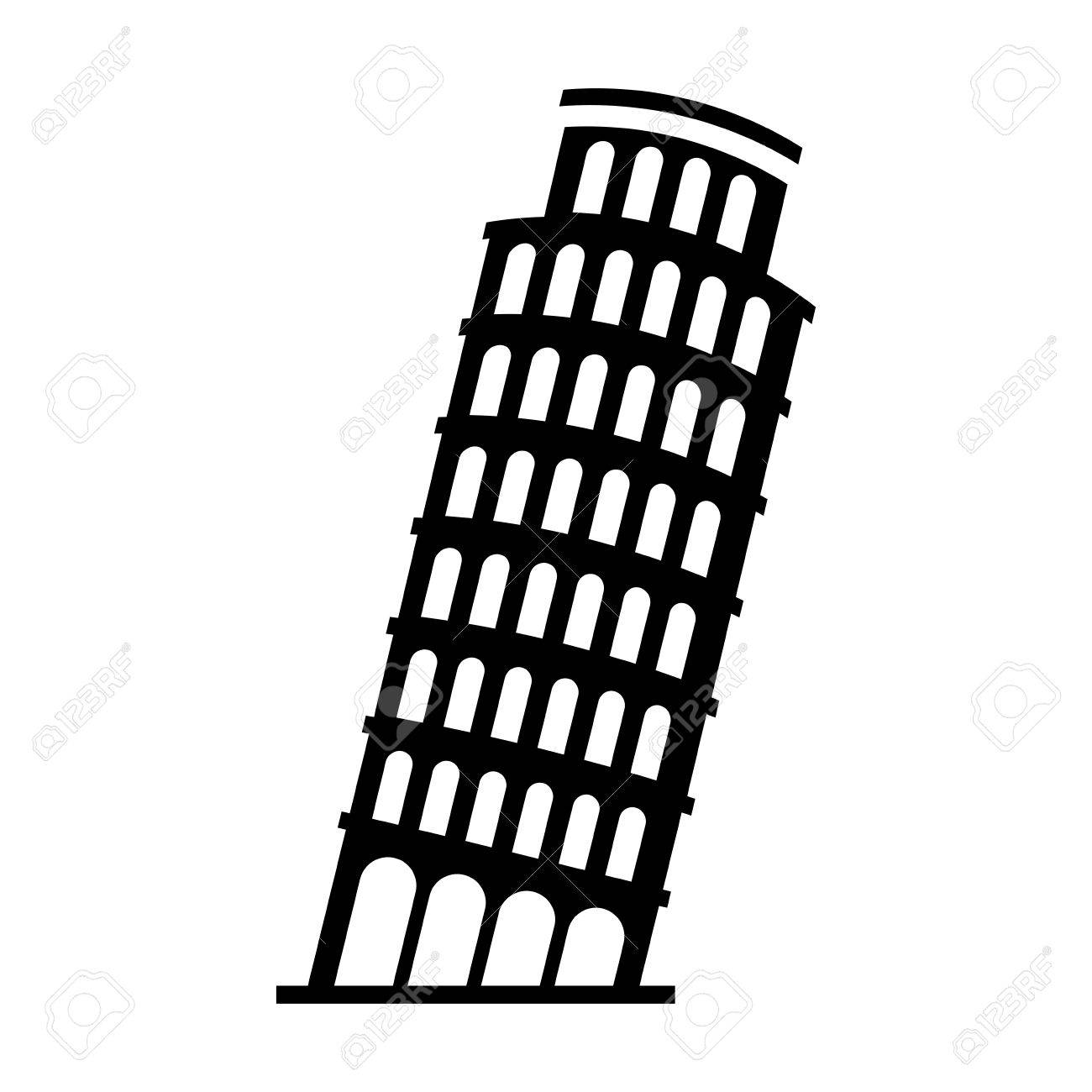 Tower clipart piza clipart.