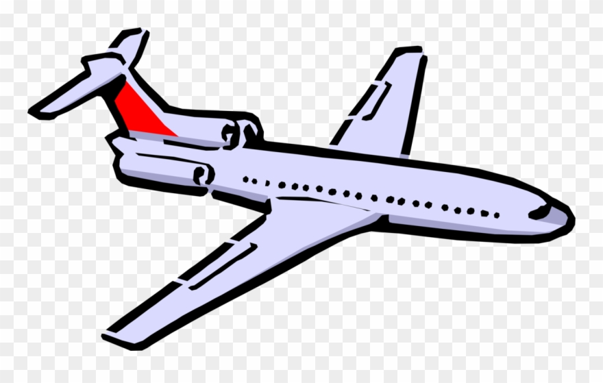 Plane clipart flying.