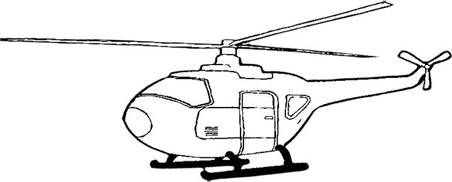 helicopter clipart white