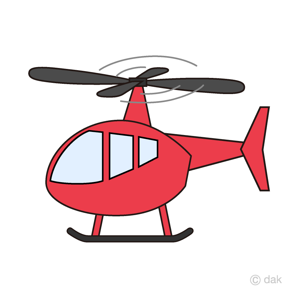 helicopter clipart simple