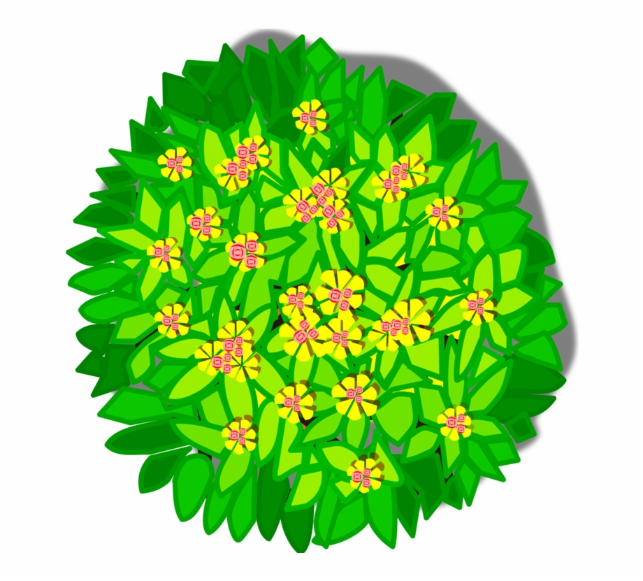 landscaping clipart top view