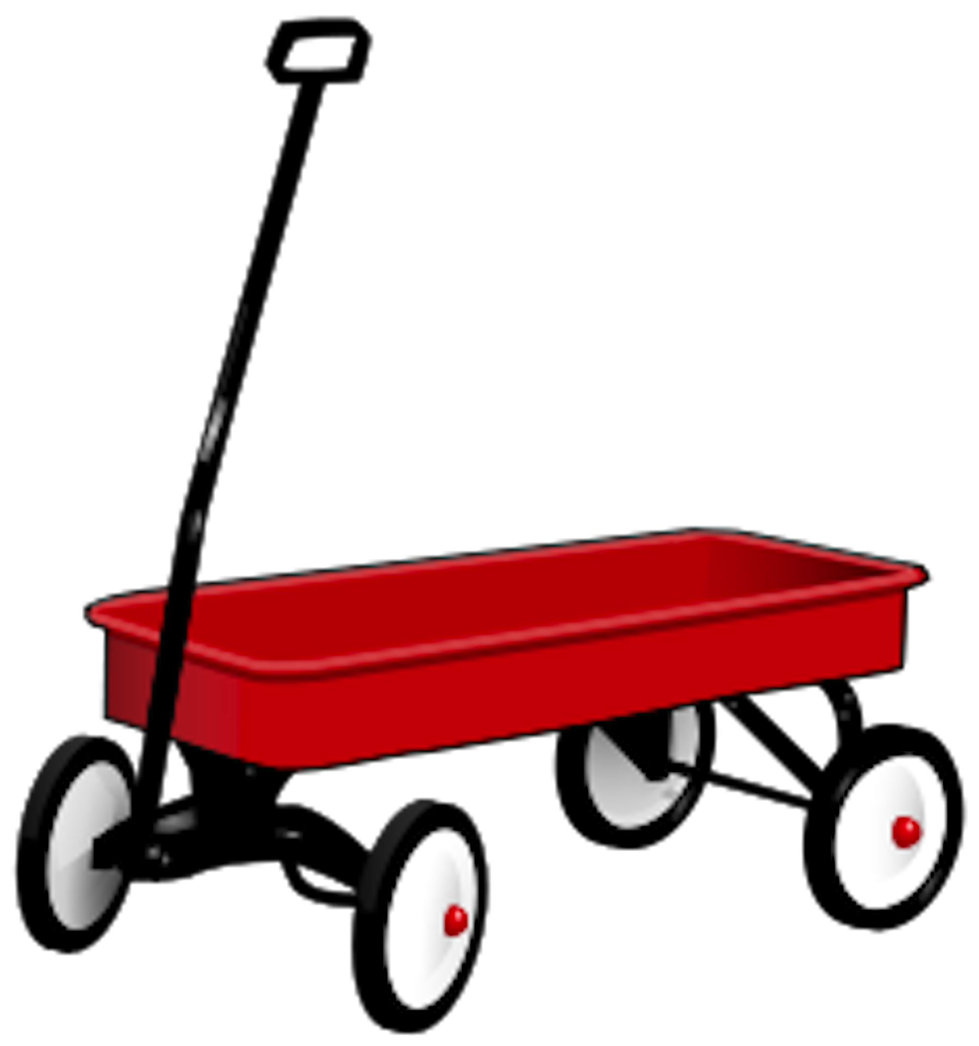 Tricycle clipart little red. Wagon clip art pictures