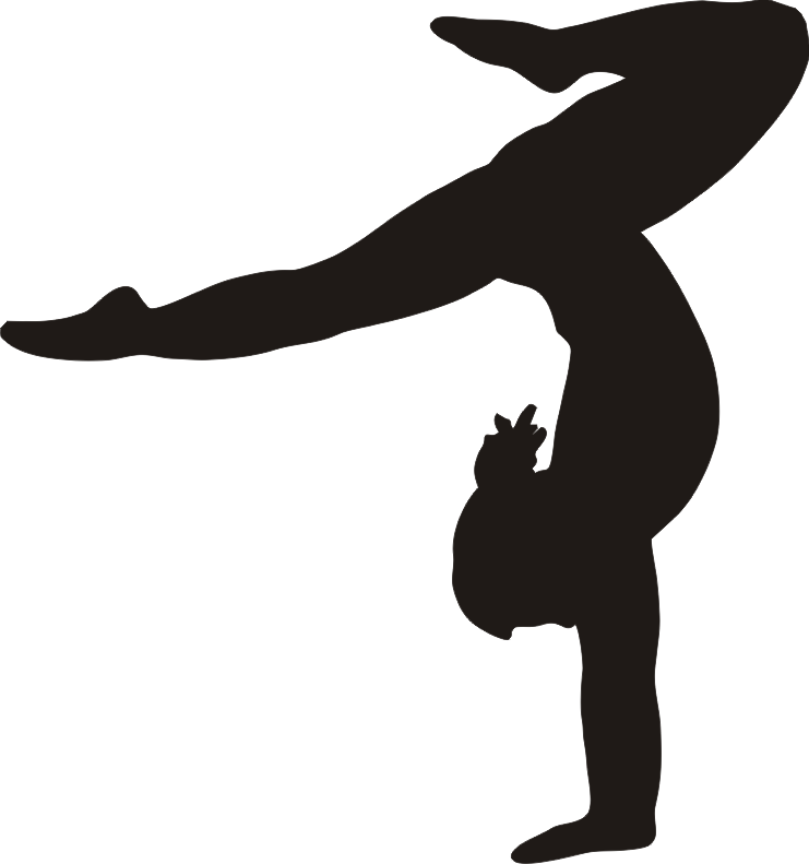 gymnastics clipart transparent background
