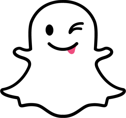snapchat icon clipart easy