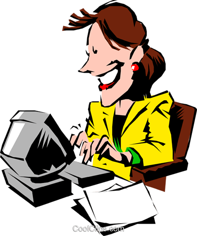 typing clipart transparent
