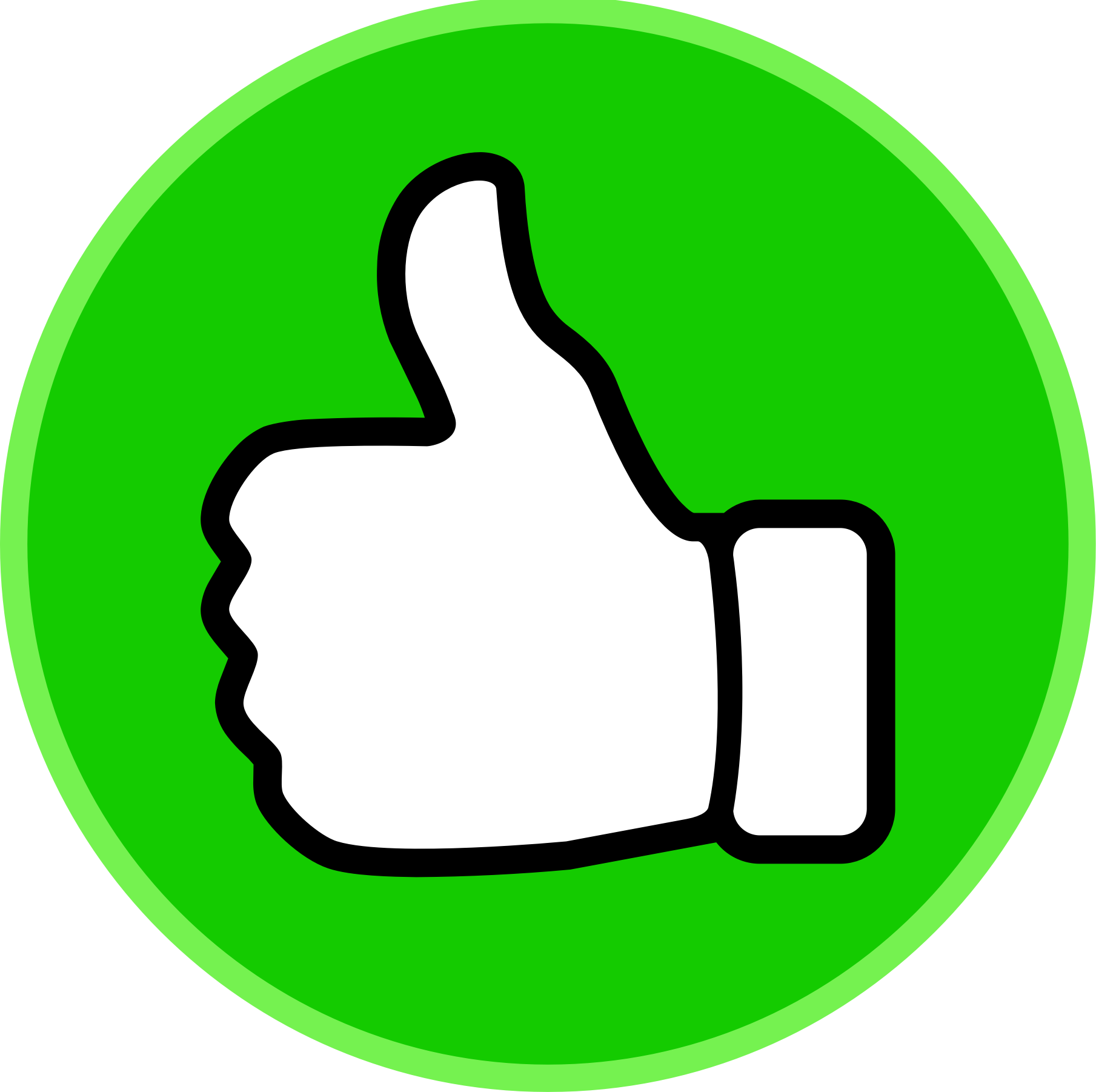 Clipart thumbs up good.