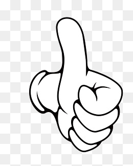 clipart thumbs up vector