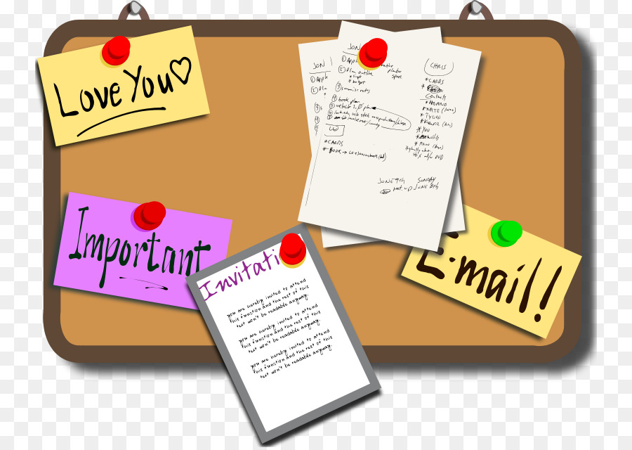 Upcoming events clipart bulletin board.