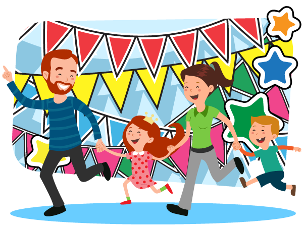 activities clipart family