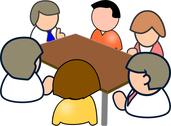 Conference clipart club meeting.