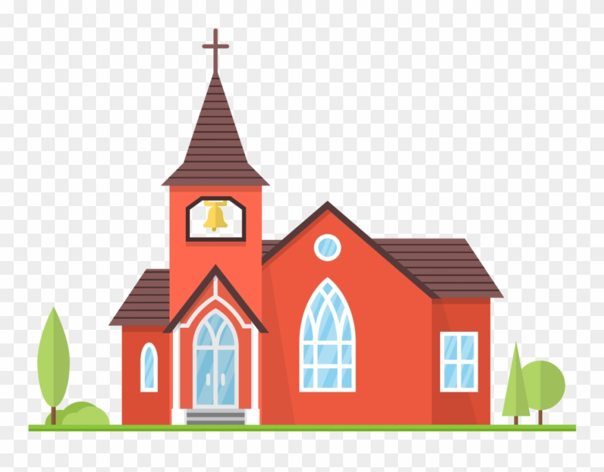 free church clipart transparent background