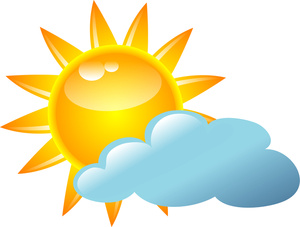 cloudy clipart weather