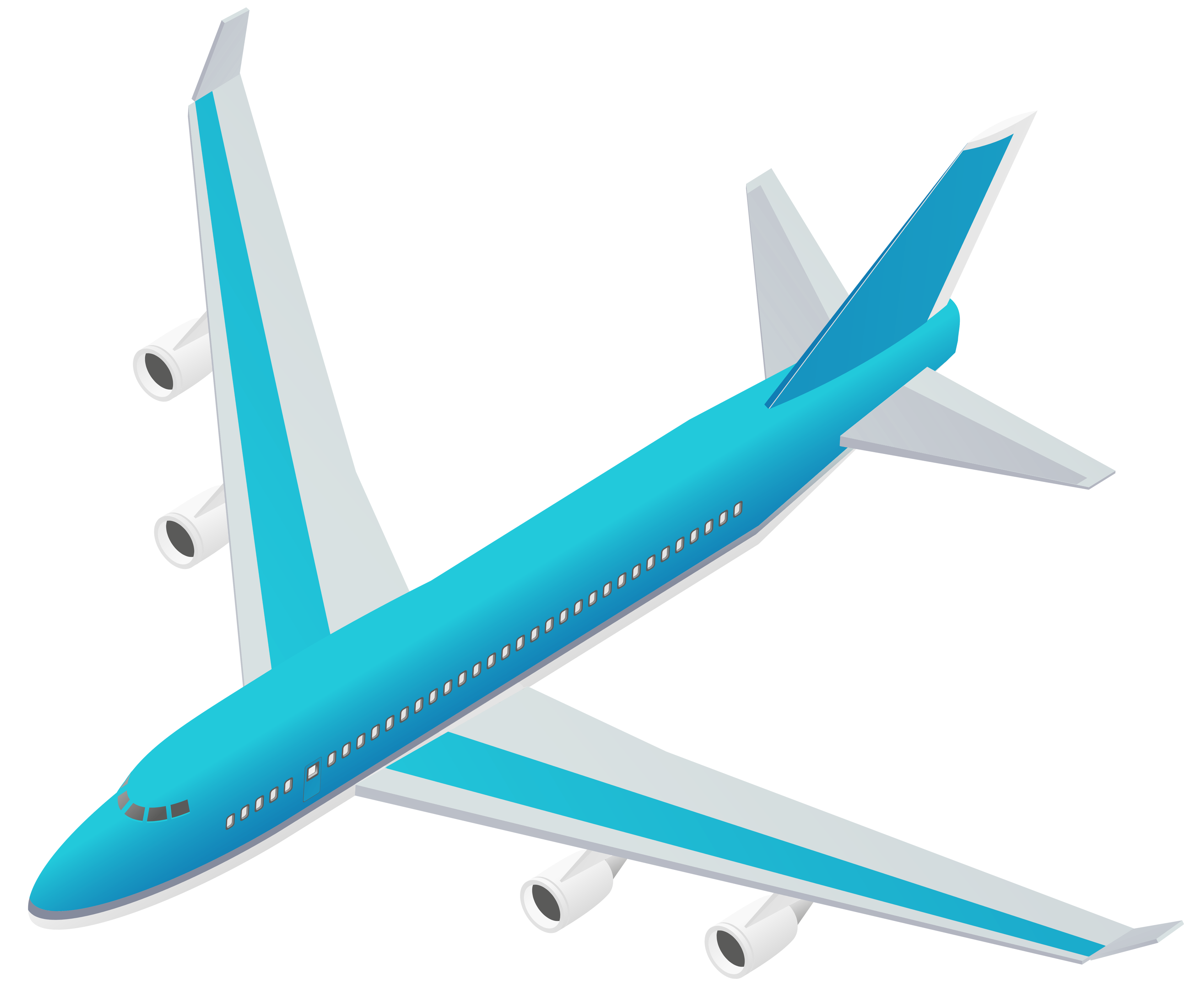 clipart airplane transparent background