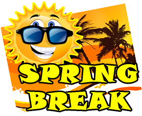spring break clipart march