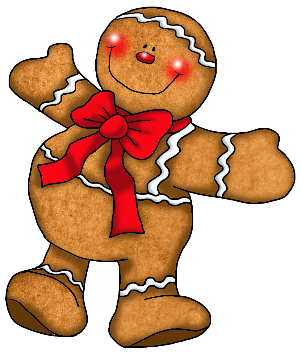 gingerbread clipart printable