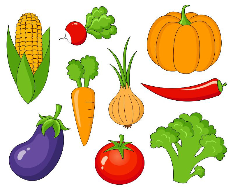 Vegetable clip art.