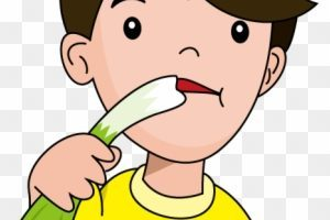 Vegetable clipart eating.