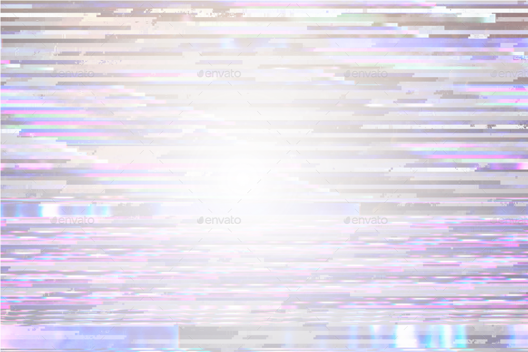 vhs overlay clipart glitch effect