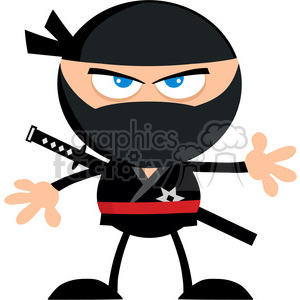 ninja clipart royalty free