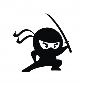 ninja clipart transparent background