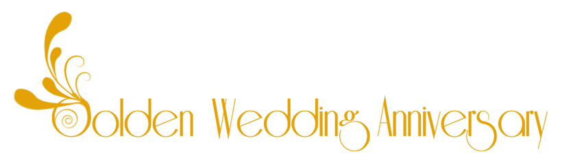 Weddings free clipart golden wedding anniversary.
