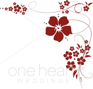 flowers clipart wedding