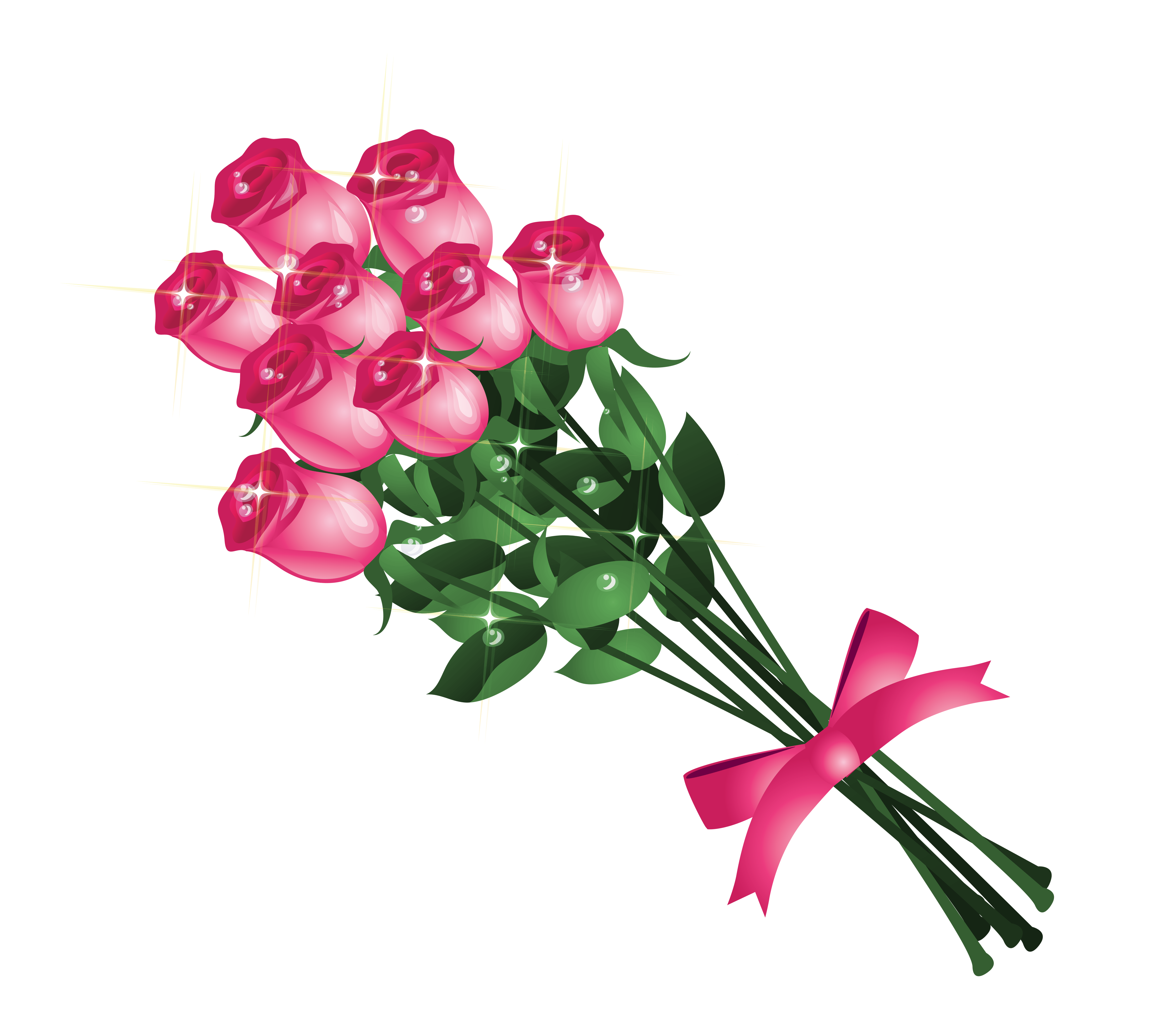 flower bouquet clipart transparent background