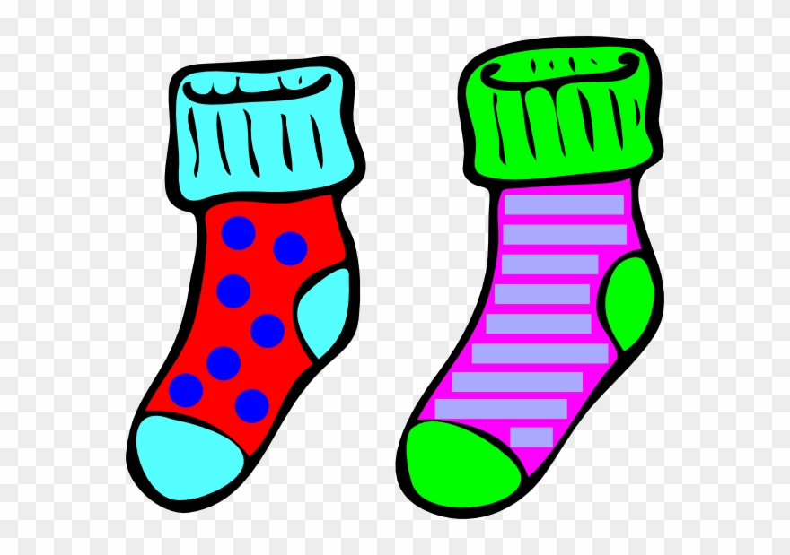 sock clipart pattern