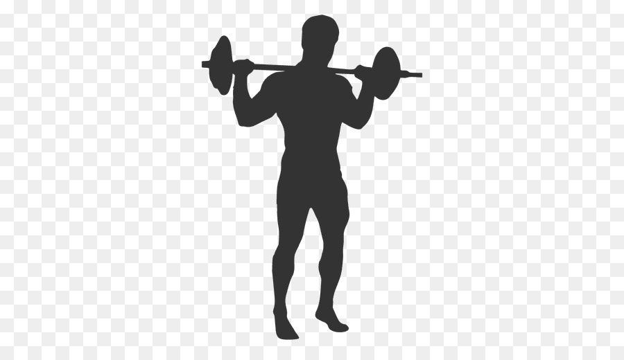 Weight clipart silhouette.