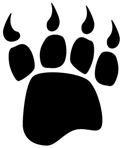 black bear clipart small