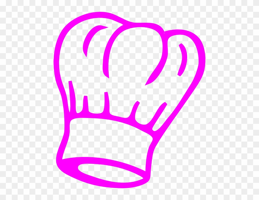 chef hat clipart pink