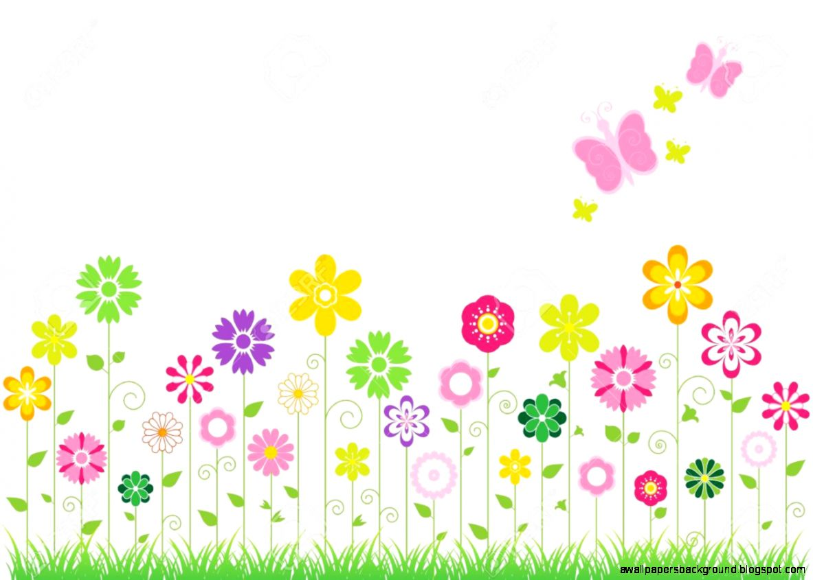 Flowers clipart spring.