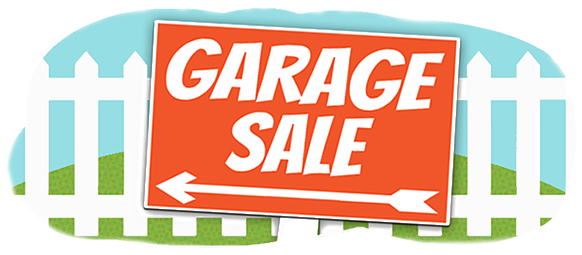 garage sales clipart moving