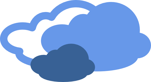 cloudy clipart animated