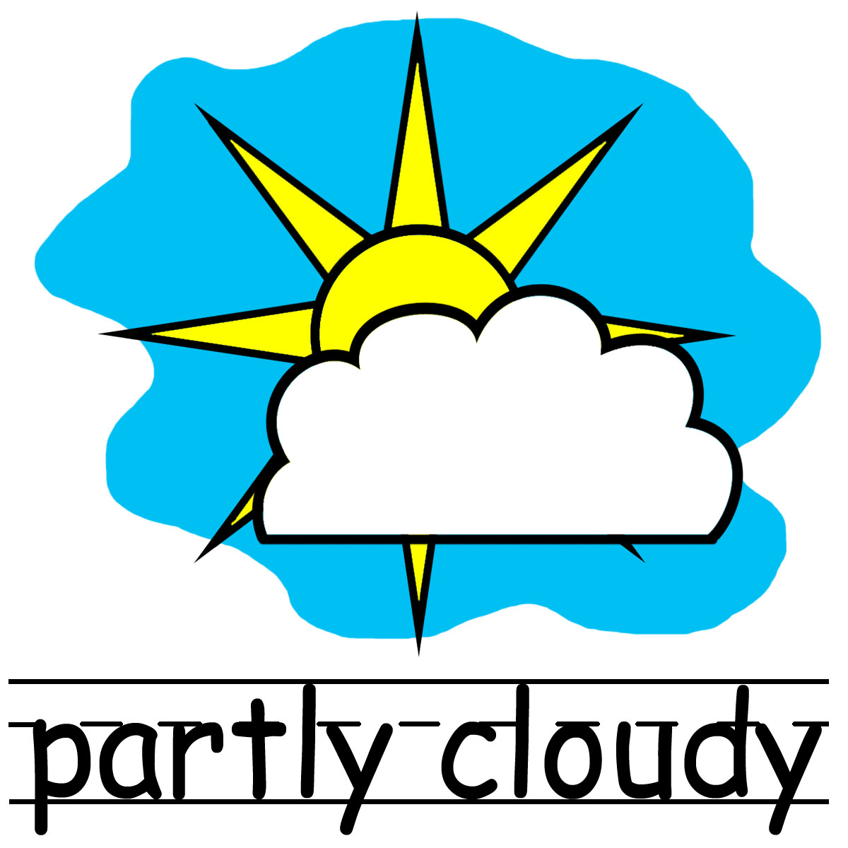 picture day clipart weather