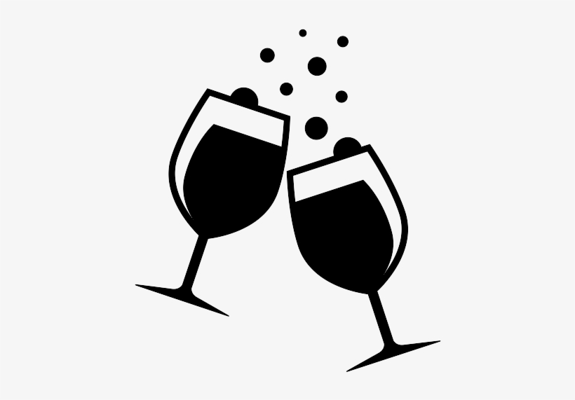 wine glass clipart clear background