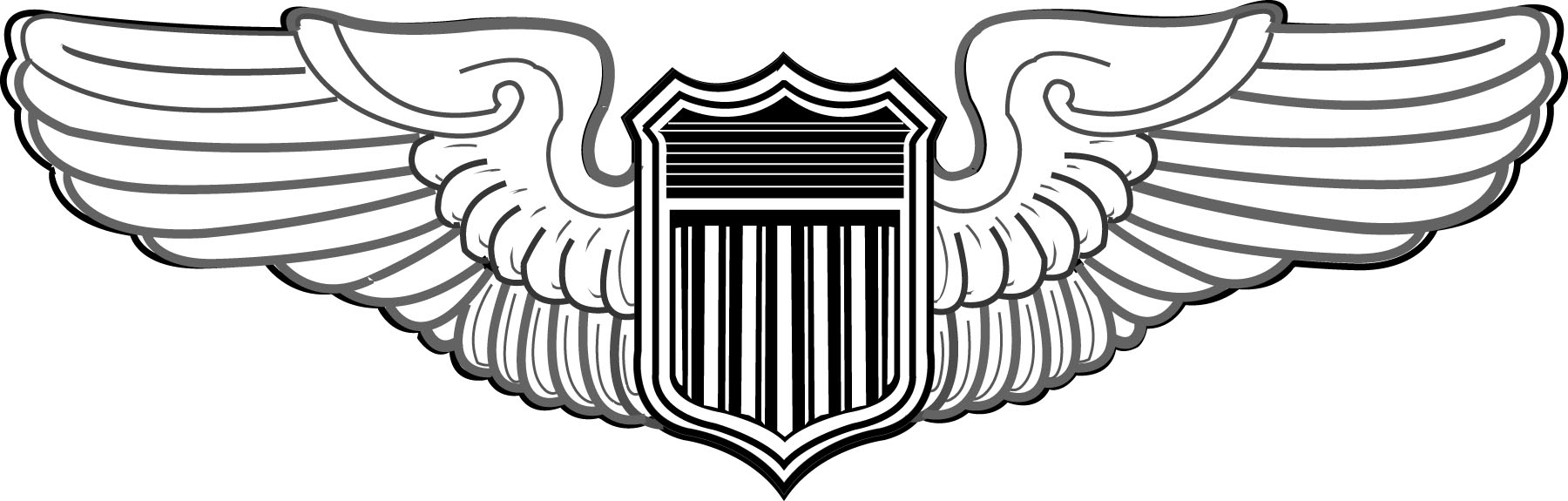 Wing clipart air force.