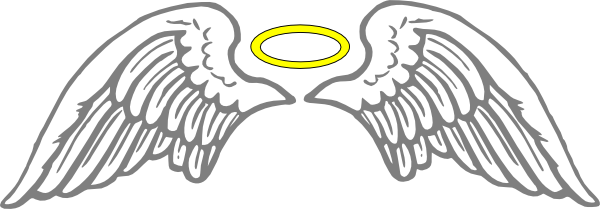 angel wings clipart transparent