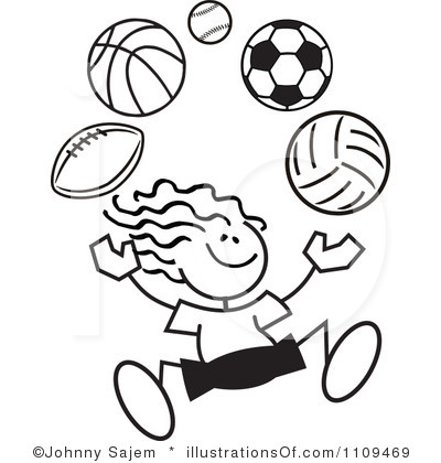 field day clipart white