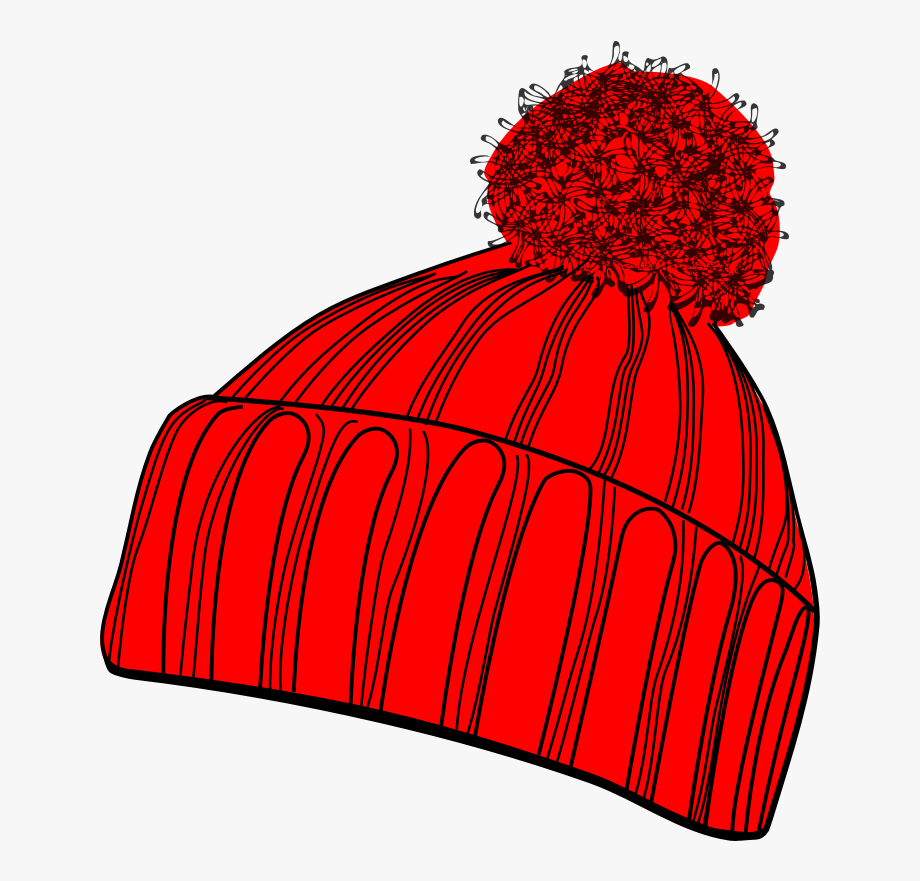 Winter hat clipart transparent.