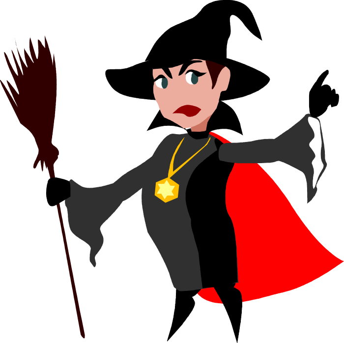 halloween clipart witch