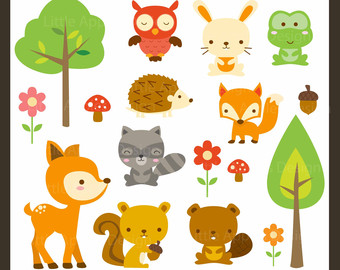 free tree clipart woodland