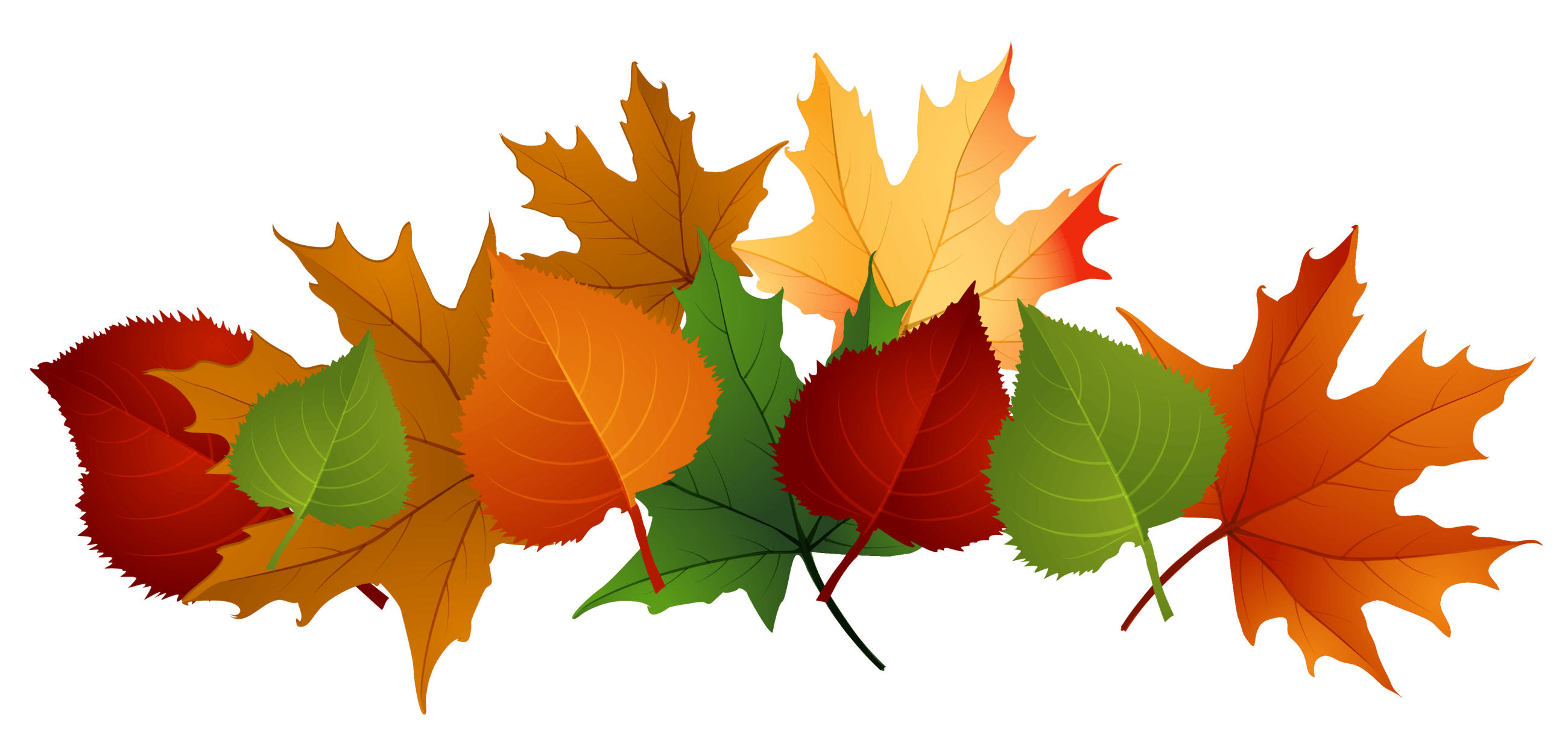 fall images clipart color